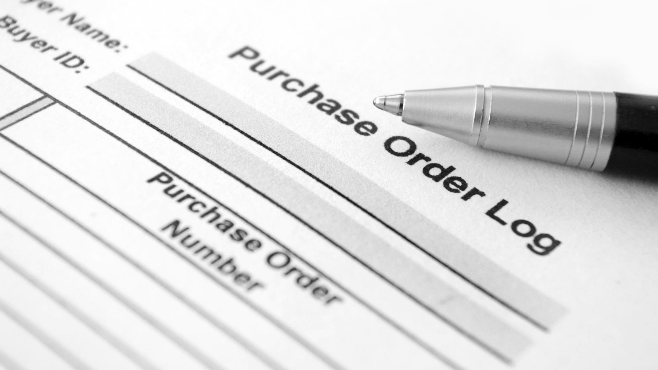 Purchase Order Systems